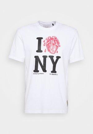 I HEART - Print T-shirt - optic white