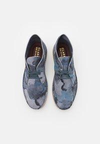 Clarks Originals - DESERT COAL - Casual lace-ups - blue - 3