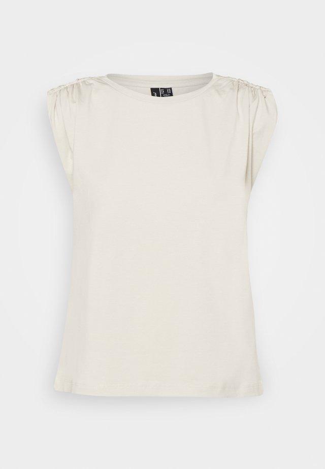 VMPANDA - T-shirt basic - pumice stone