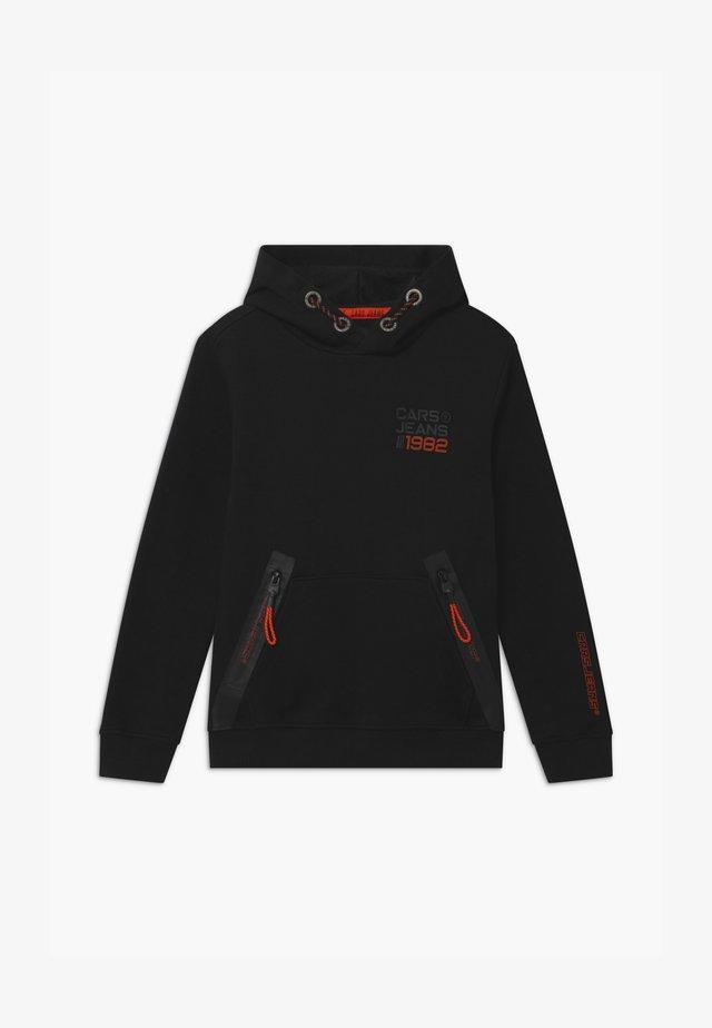 WICKS - Jersey con capucha - black
