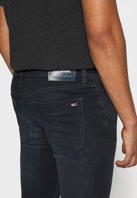 Tommy Jeans - SCANTON SLIM - Slim fit -farkut - dutton blue - 4