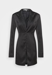 Missguided Tall - Short coat - black - 0