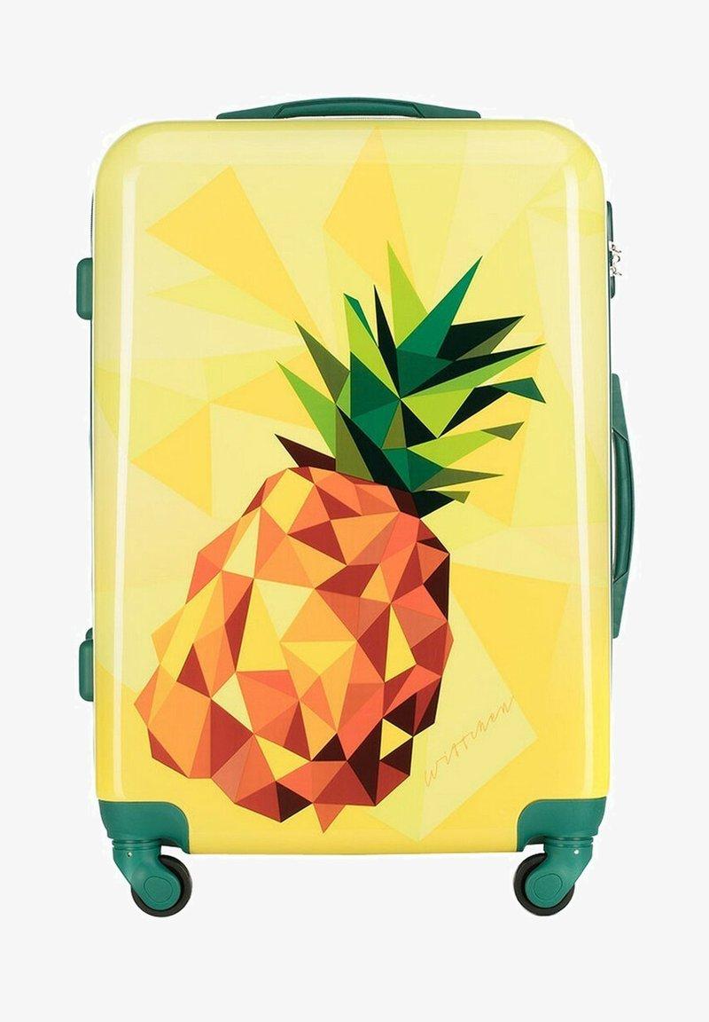 Wittchen - Wheeled suitcase - gelb