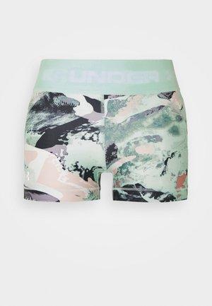 PRINT SHORTY - Leggings - seaglass blue