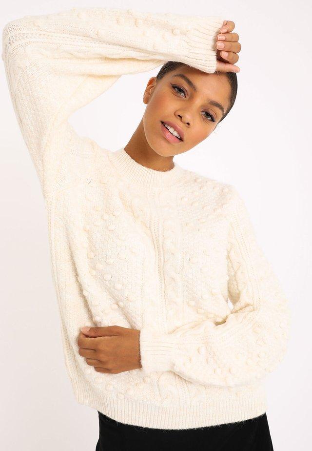 Sweter - altweiß
