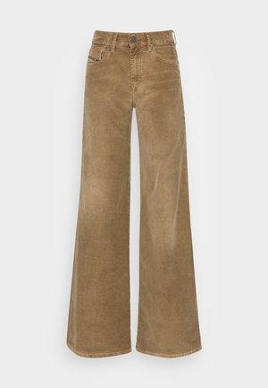 D-AKEMI - Spodnie materiałowe - beige