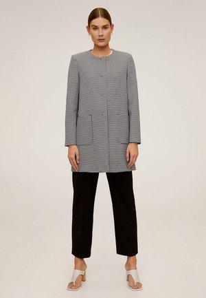 BOMBIN - Short coat - cremeweiß