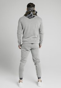 SIKSILK - MUSCLE FIT OVERHEAD HOODIE - Sweat à capuche - grey marl