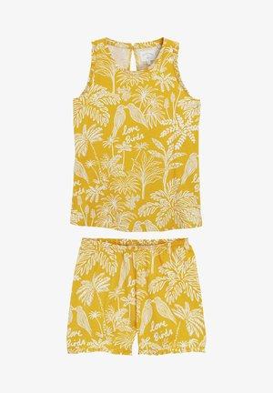 SET - Piżama - yellow