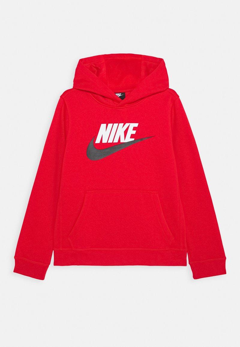 Nike Sportswear - CLUB - Bluza z kapturem - university red