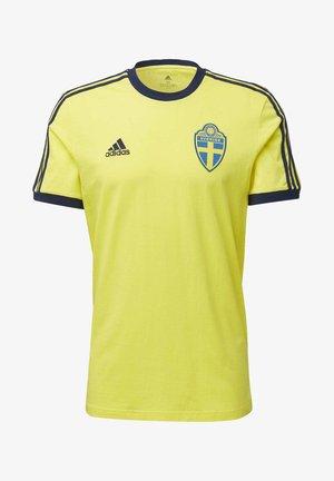 SVFF SWEDEN - Print T-shirt - yellow