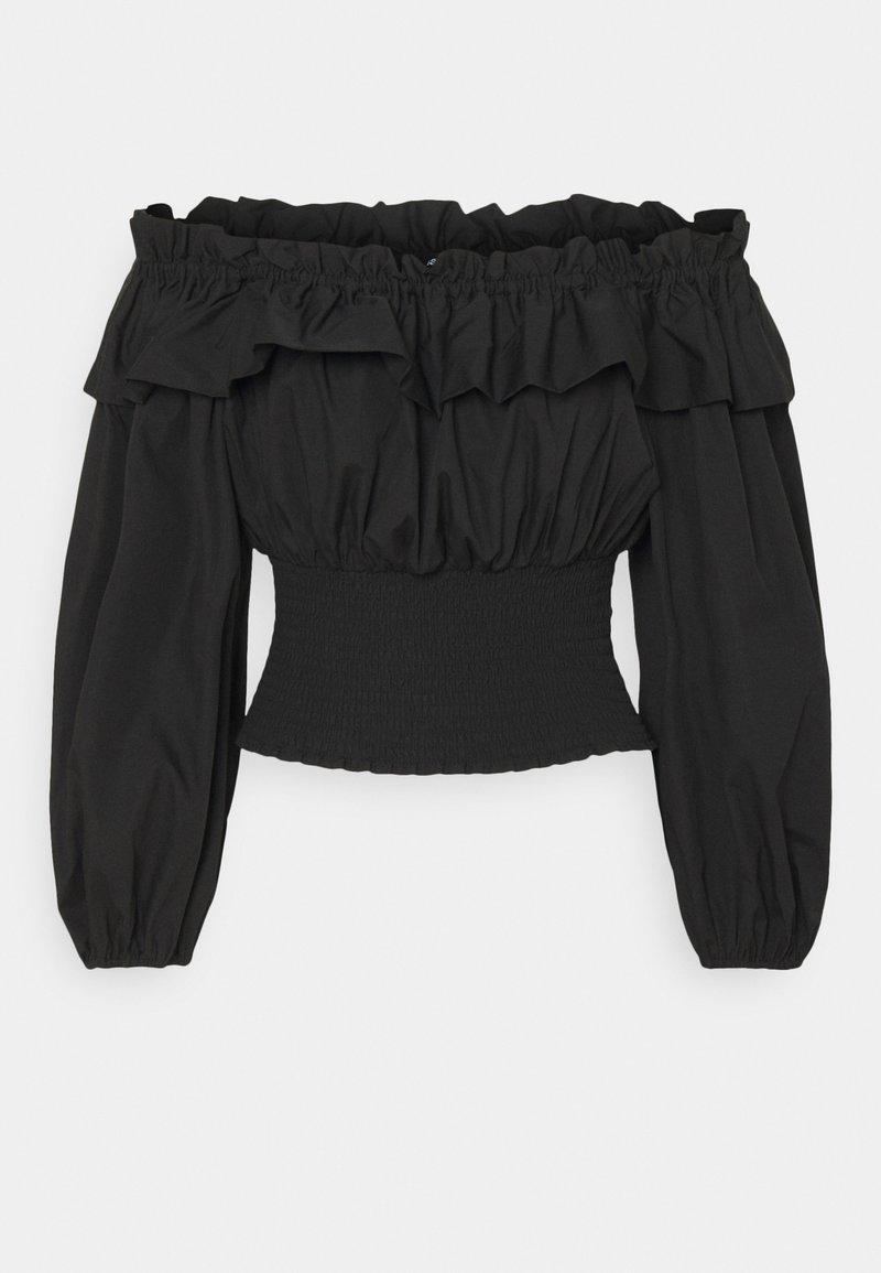 Gina Tricot - EXCLUSIVE BELLE OFFSHOULDER - Blouse - black