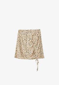 PULL&BEAR - Áčková sukně - beige - 6