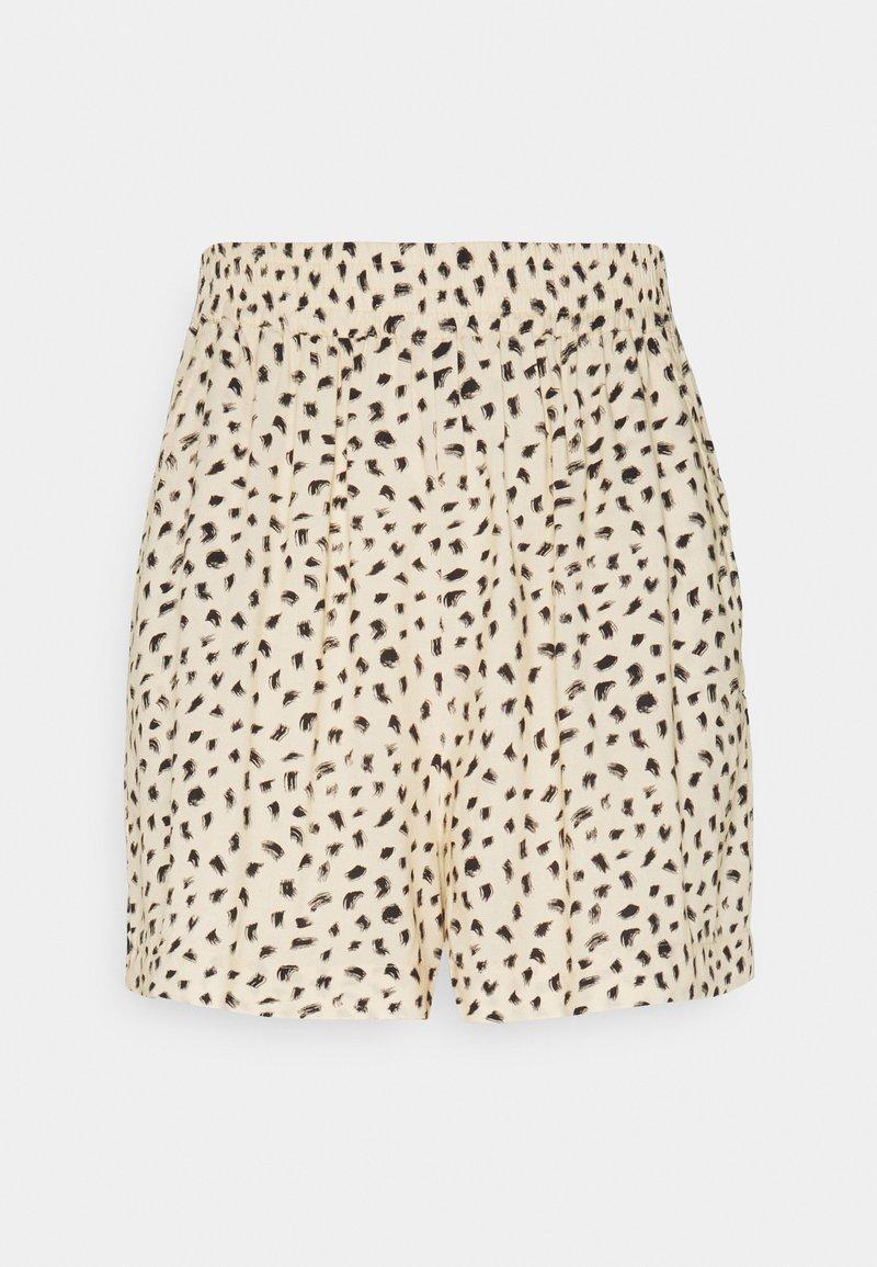 EDITED - EMBER - Shorts - beige/black