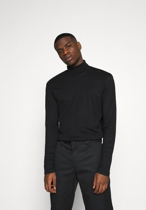 JPRBLARAY ROLL NECK - Maglietta a manica lunga - black