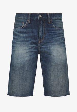 Jeansshorts - blue denim