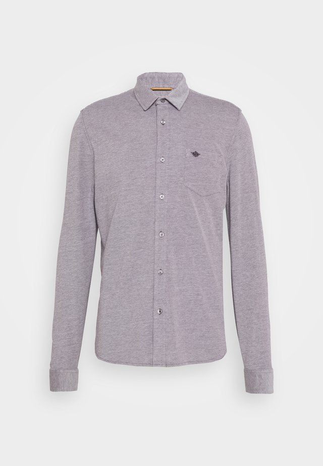 ALPHA BUTTON UP - Skjorter - hofmann raisin