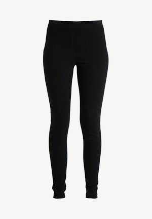 MOCK FLY BENG - Trousers - black