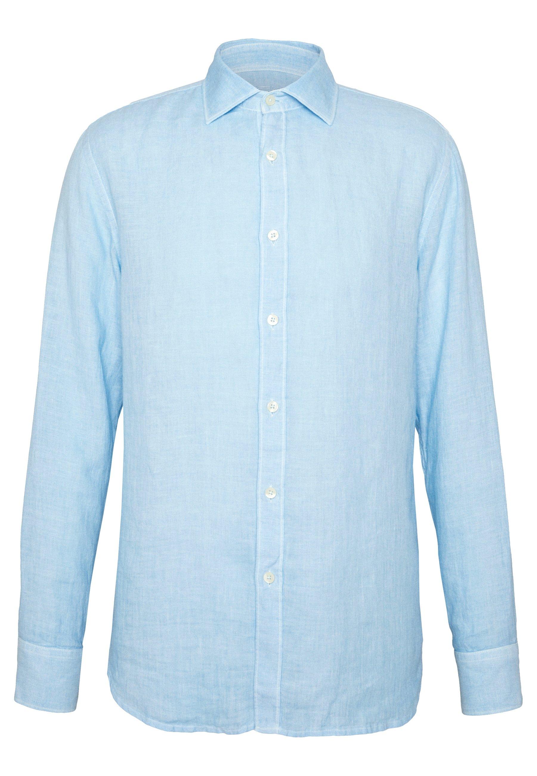 120% Lino Chemise - blue soft fade