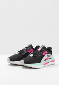 Puma - LQDCELL SHATTER XT GEO - Sports shoes - black/gray violet/luminous pink - 2