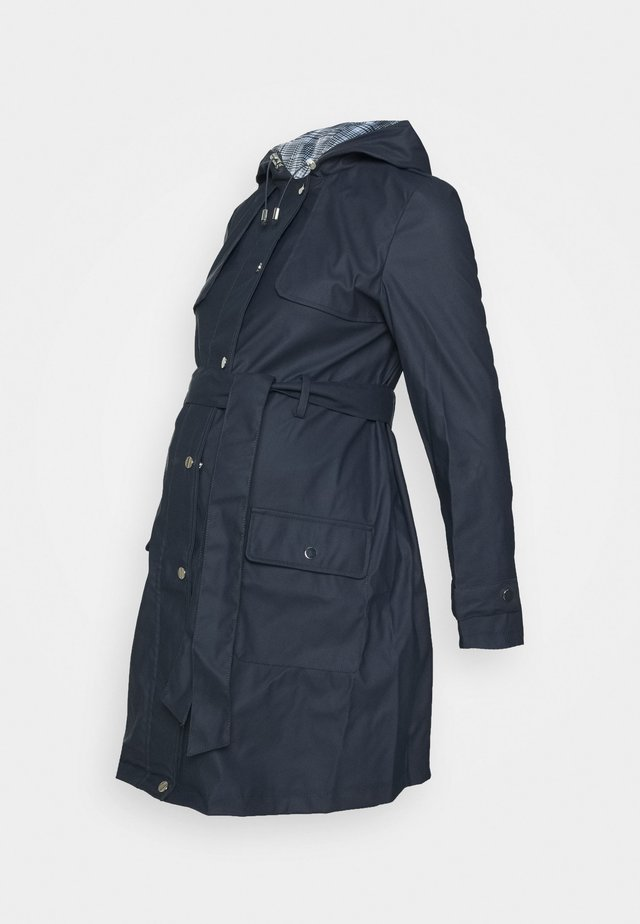 MATERNITY RAINCOAT - Waterproof jacket - navy