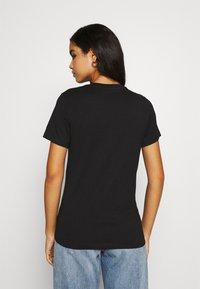 Diesel - T-SILY-K6 - Print T-shirt - black - 2