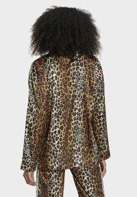 adidas Originals - LEOPARD - Button-down blouse - brown - 1