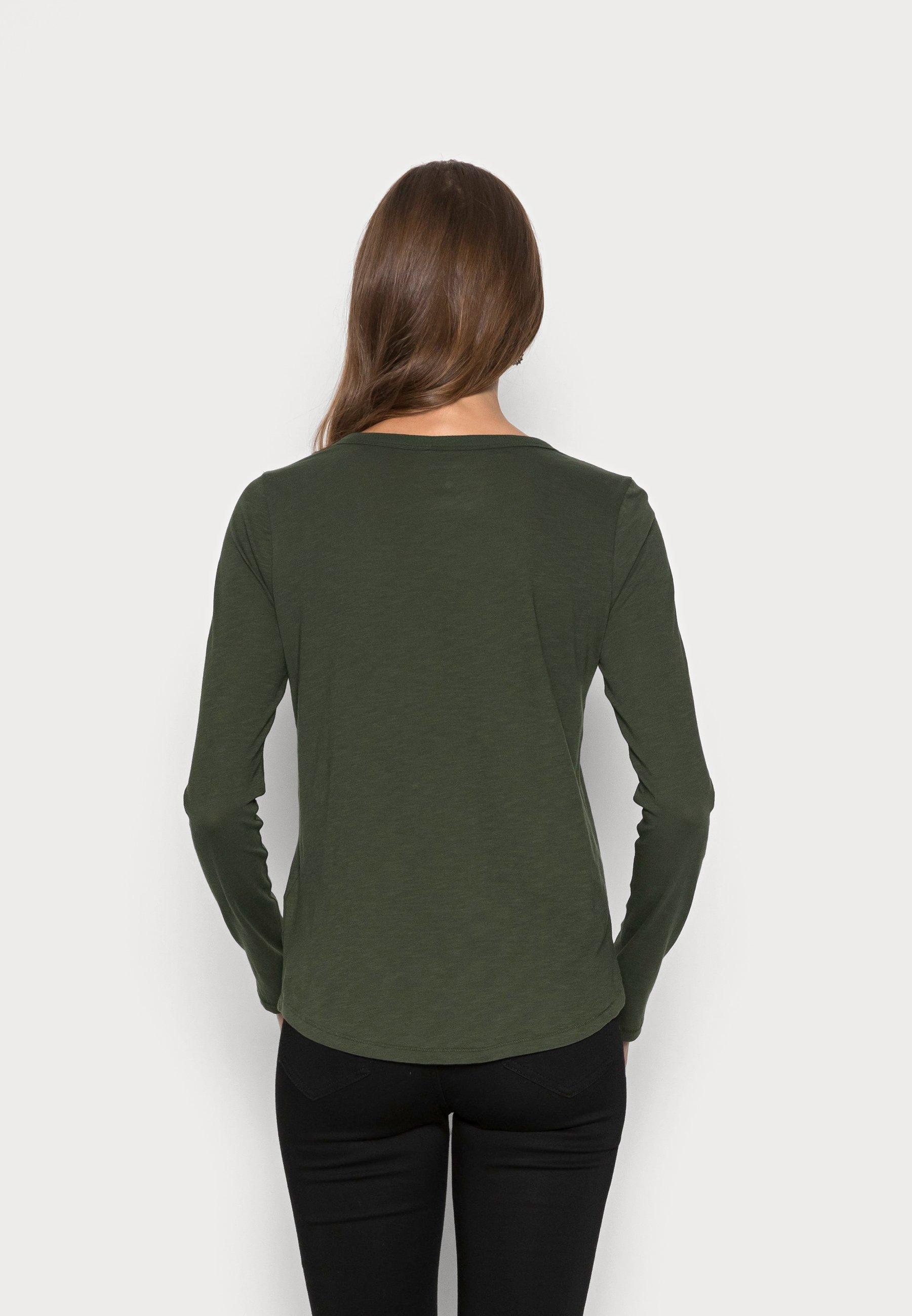 Women WHISPER LONG SLEEVE CREWNECK TEE - Long sleeved top