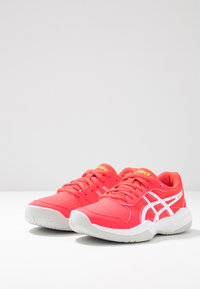 ASICS - GEL-GAME - Clay court tennis shoes - laser pink/white - 3