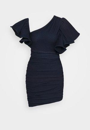 Denim dress - sapphire blue