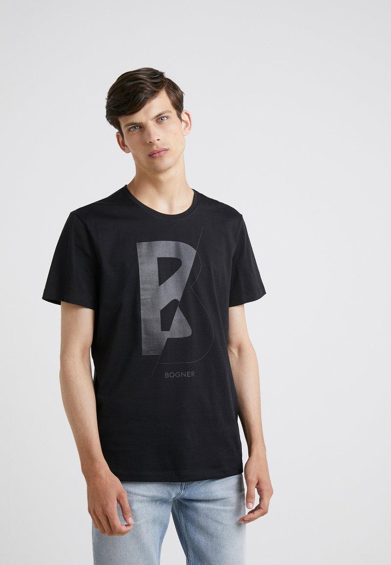 Bogner - ROC - T-shirt z nadrukiem - black