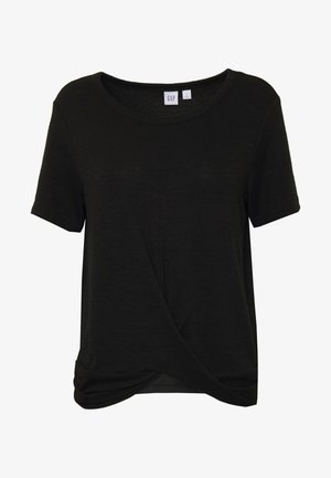 Jednoduché triko - true black