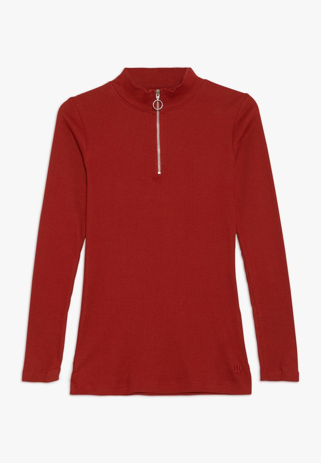 ISMA LONGSLEEVE - Long sleeved top - rot