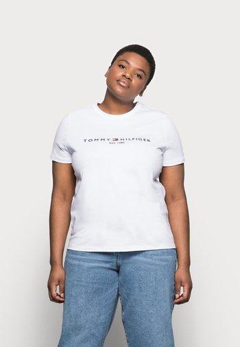REGULAR TEE - Print T-shirt - white