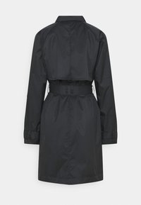 Nike Sportswear - Trenchcoat - black/iron grey - 6