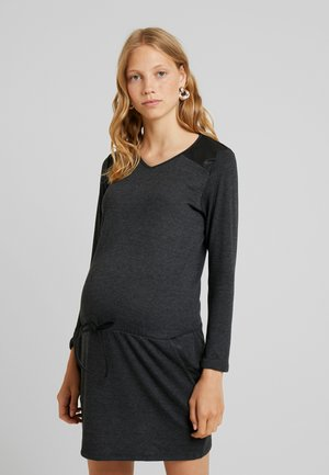 DOROTHEE - Jersey dress - dark grey
