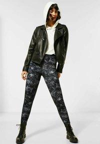 Street One - Leggings - Trousers - schwarz - 0
