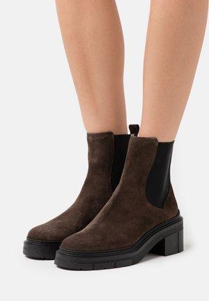 JIMENEZ - Platform ankle boots - rhino