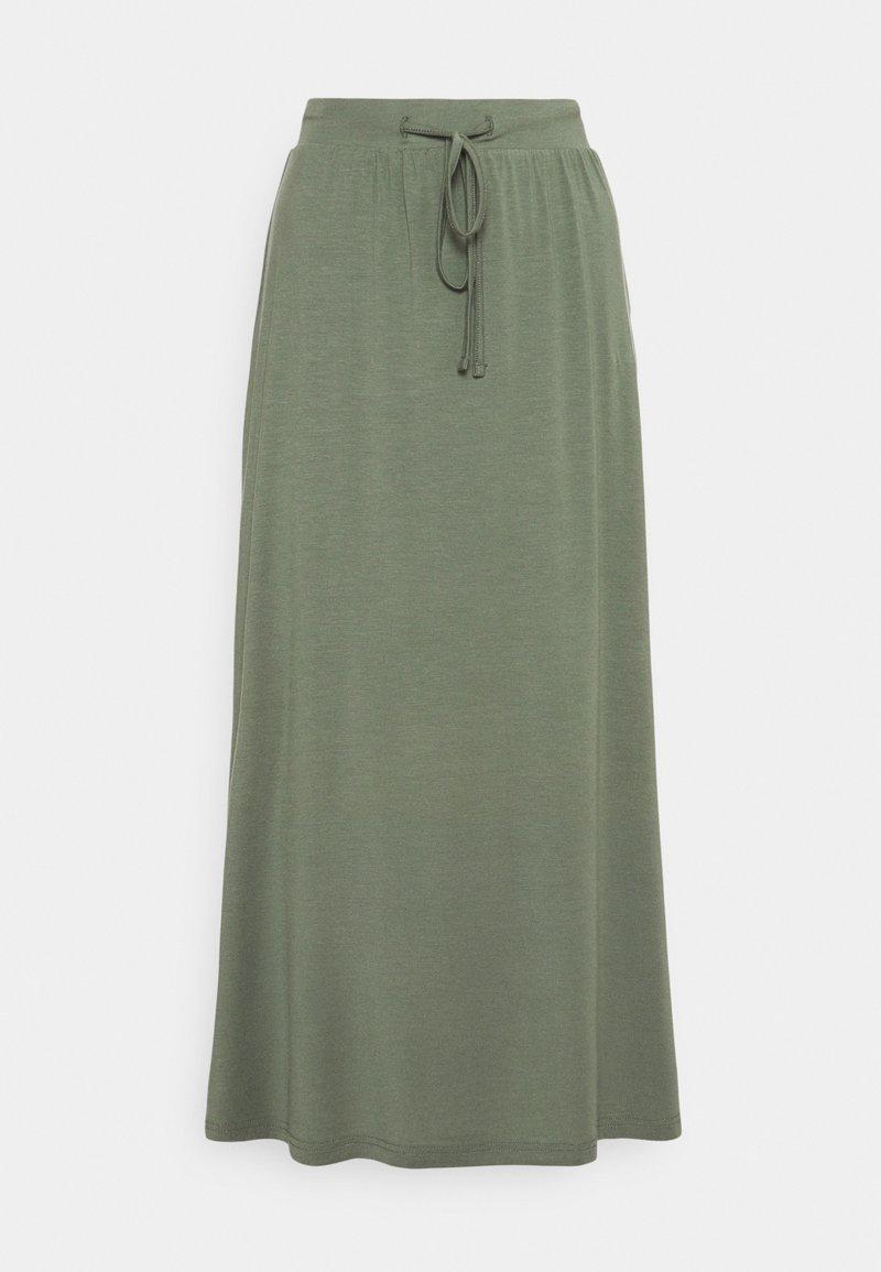 Vero Moda Petite - VMAVA ANCLE SKIRT - Maxi sukně - laurel wreath