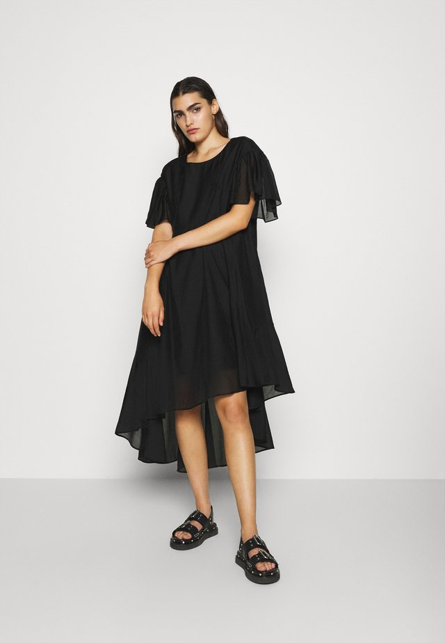SONIA VOLUME DRESS - Iltapuku - black