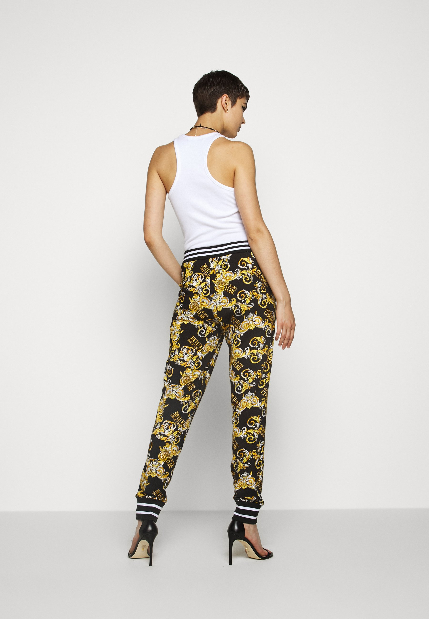 Versace Jeans Couture Pantalon de survêtement - nero