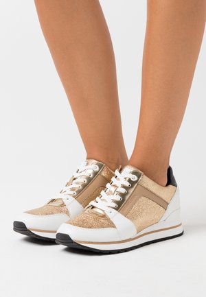 BILLIE TRAINER - Baskets basses - pale gold