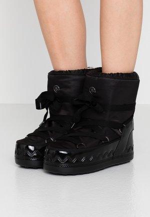 TROIS VALLÉES  - Zimní obuv - black