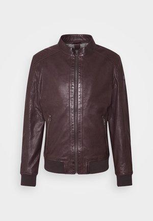 GRAHAN  - Leather jacket - brown