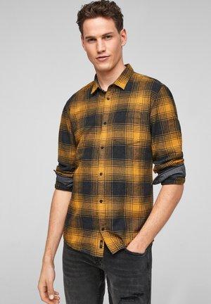 Shirt - yellow check
