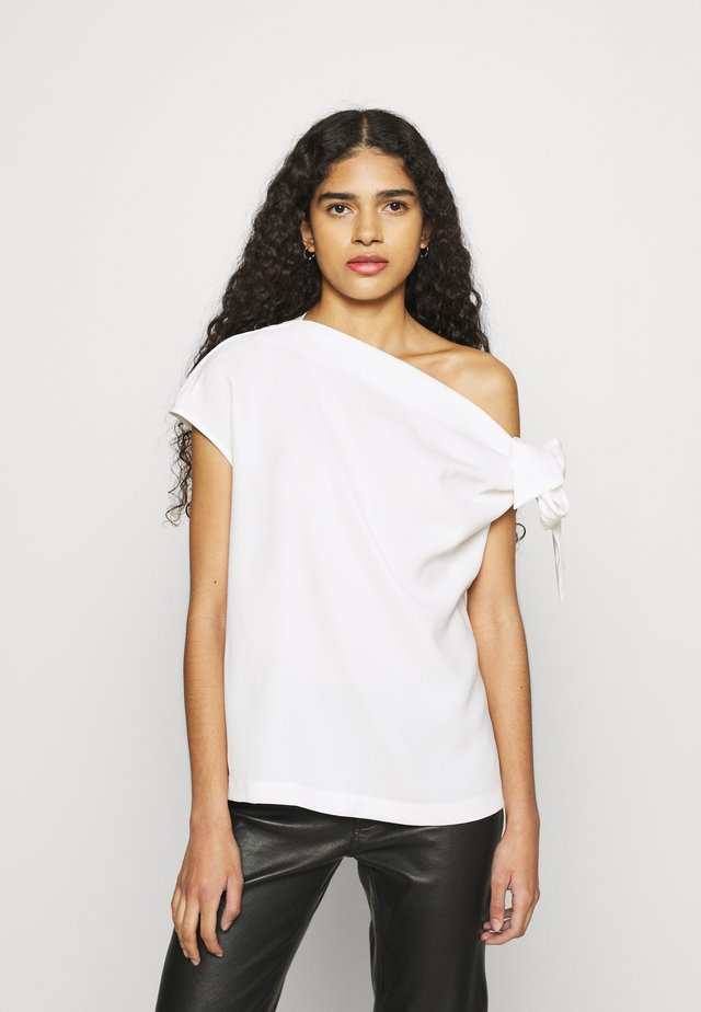 THE DROP OFF - T-shirt con stampa - white