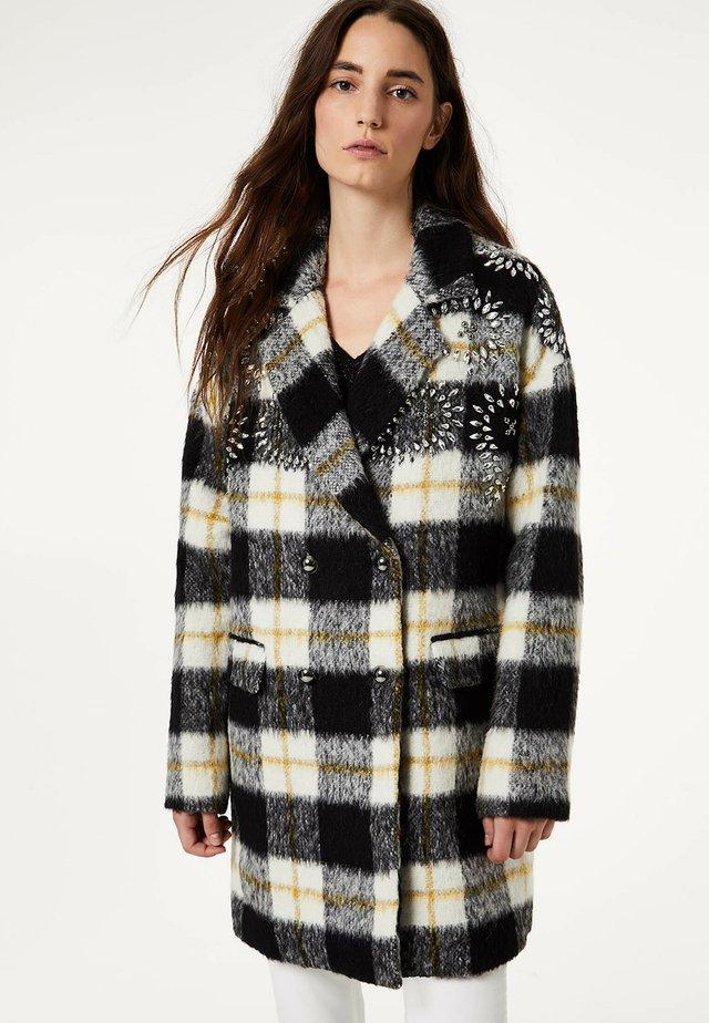 Płaszcz wełniany /Płaszcz klasyczny - multicolor