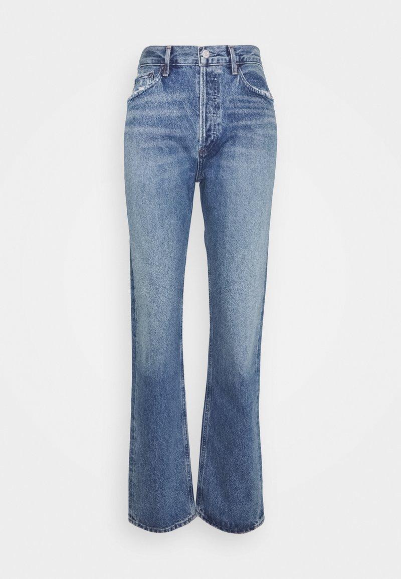 Agolde - LANA - Jeansy Straight Leg - blue denim