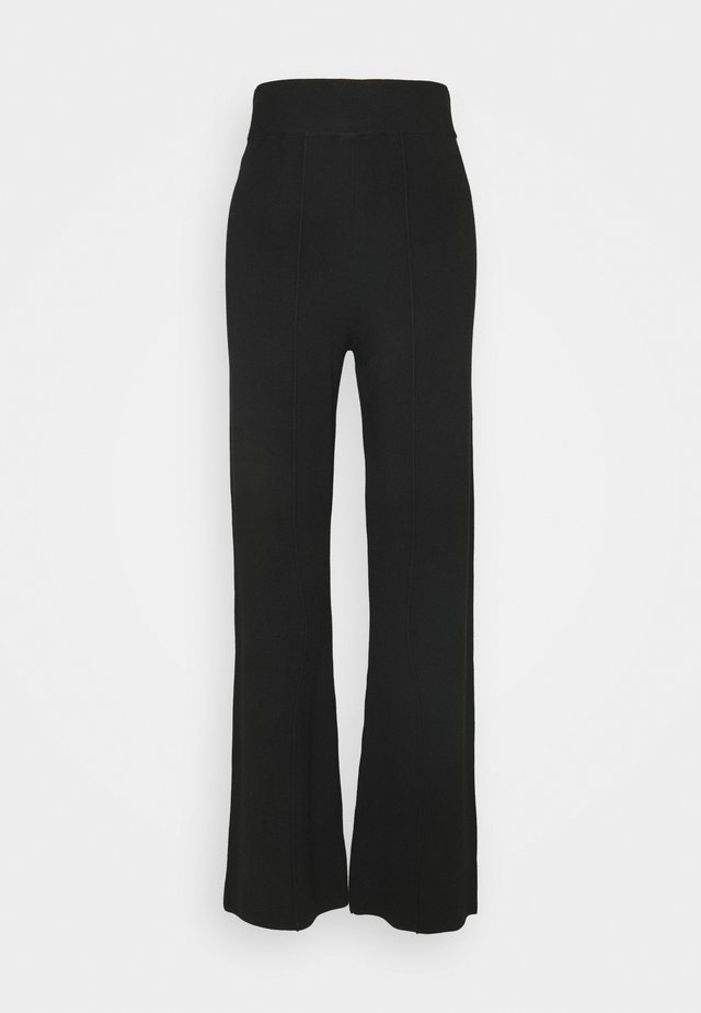 YASFIBA PANTS  - Trousers - black