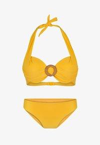 LingaDore - HALTERNECK - Bikini - yellow - 4